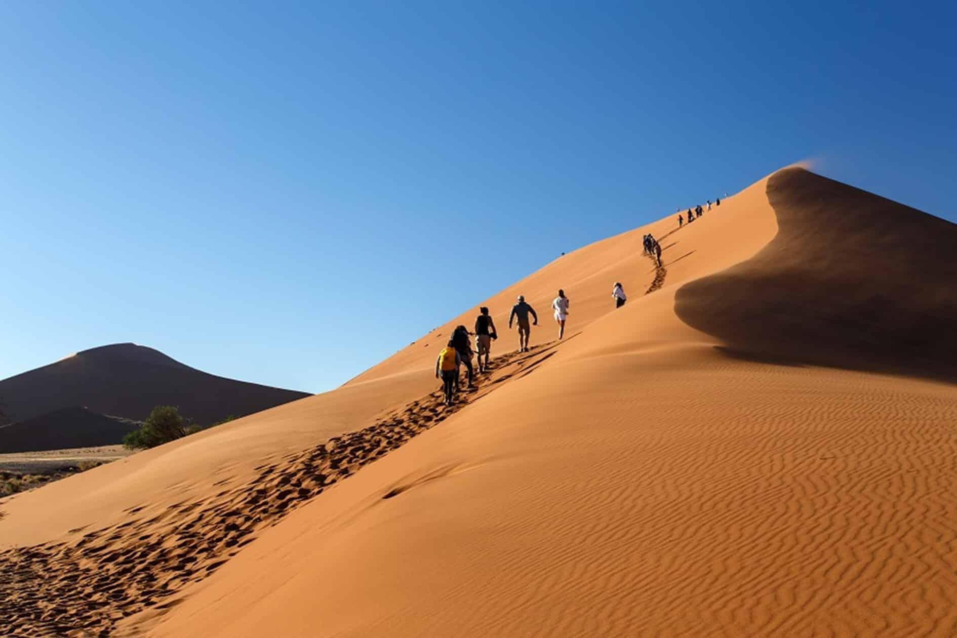 Des dunes de sable