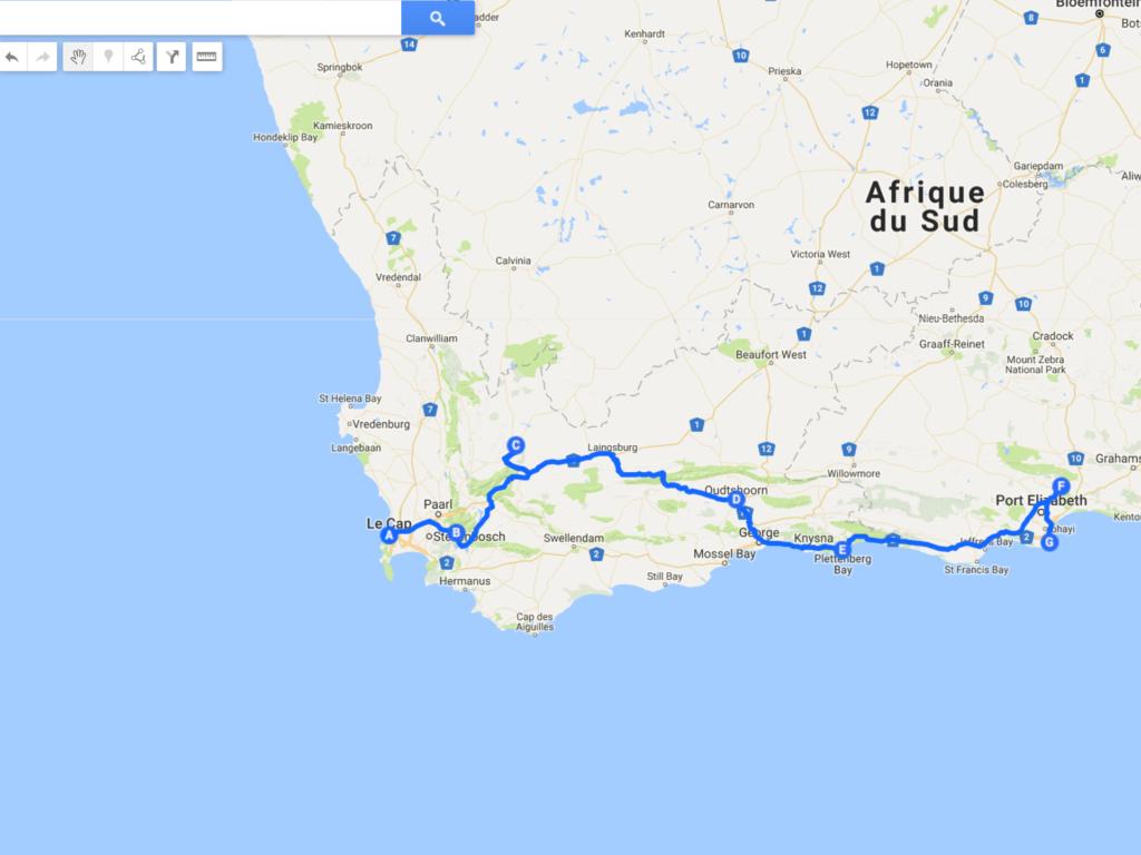 15 jours en Afrique du Sud : programme