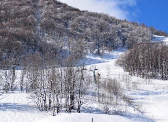 ski près de Monaco